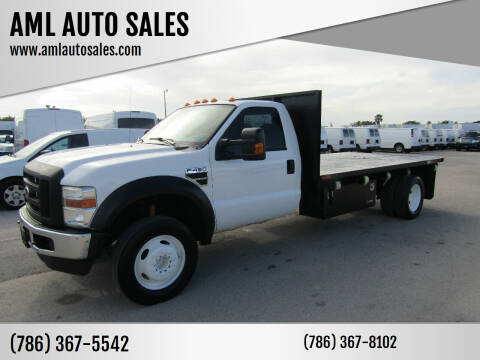 2010 Ford F-450 Super Duty for sale at AML AUTO SALES - Flat Beds in Opa-Locka FL