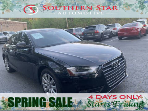 2013 Audi A4 for sale at Southern Star Automotive, Inc. in Duluth GA