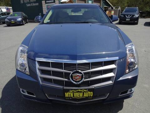 2010 Cadillac CTS for sale at MOUNTAIN VIEW AUTO in Lyndonville VT