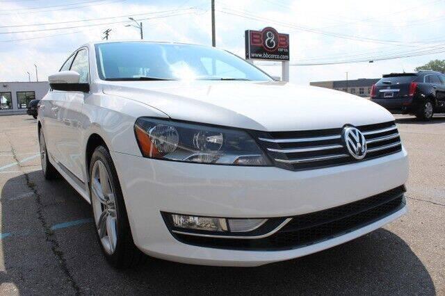 2015 Volkswagen Passat for sale at B & B Car Co Inc. in Clinton Township MI