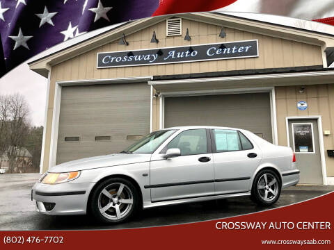 2004 Saab 9-5 for sale at CROSSWAY AUTO CENTER in East Barre VT
