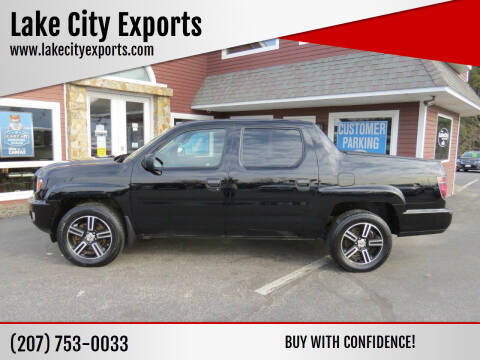 2012 Honda Ridgeline for sale at Lake City Exports in Auburn ME