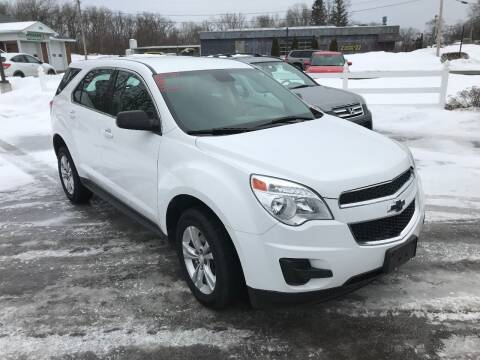 2015 Chevrolet Equinox for sale at RJD Enterprize Auto Sales in Scotia NY