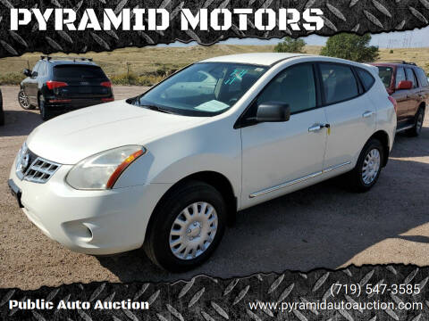 2011 Nissan Rogue for sale at PYRAMID MOTORS - Pueblo Lot in Pueblo CO