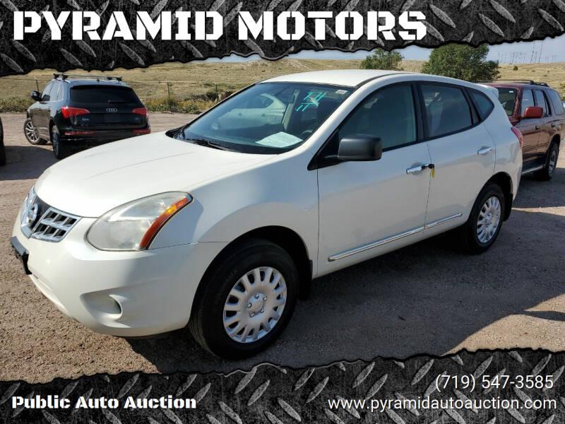 2011 Nissan Rogue for sale at PYRAMID MOTORS - Pueblo Lot in Pueblo CO