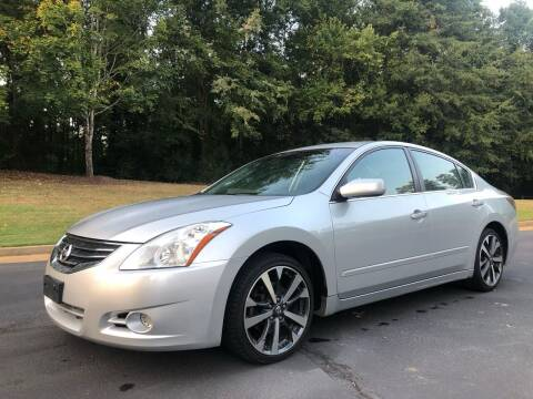 2012 Nissan Altima for sale at Top Notch Luxury Motors in Decatur GA