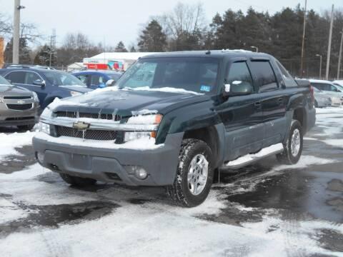 2002 Chevrolet Avalanche for sale at MT MORRIS AUTO SALES INC in Mount Morris MI