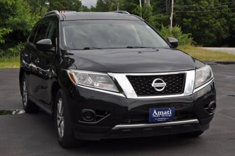 2015 Nissan Pathfinder for sale at Amati Auto Group in Hooksett NH