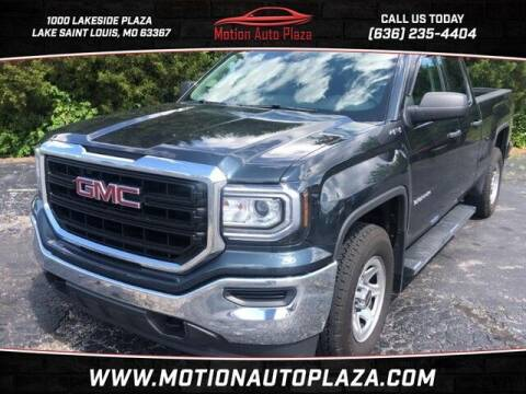 2018 GMC Sierra 1500 for sale at Motion Auto Plaza in Lakeside MO
