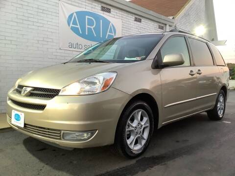2005 Toyota Sienna for sale at ARIA AUTO SALES in Raleigh NC
