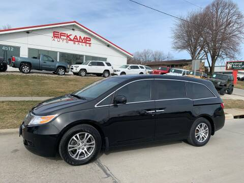 2011 Honda Odyssey for sale at Efkamp Auto Sales LLC in Des Moines IA