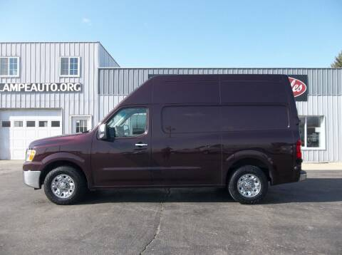 2015 Nissan NV Cargo for sale at Lampe Auto Sales in Merrill IA
