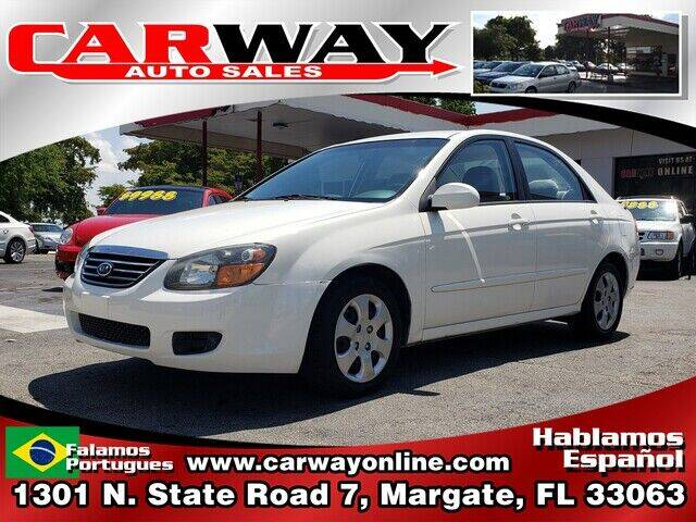2009 Kia Spectra for sale at CARWAY Auto Sales in Margate FL