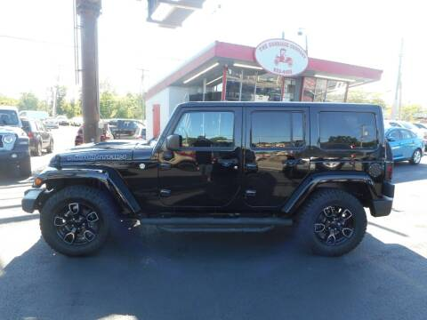 2017 Jeep Wrangler Unlimited for sale at The Carriage Company in Lancaster OH