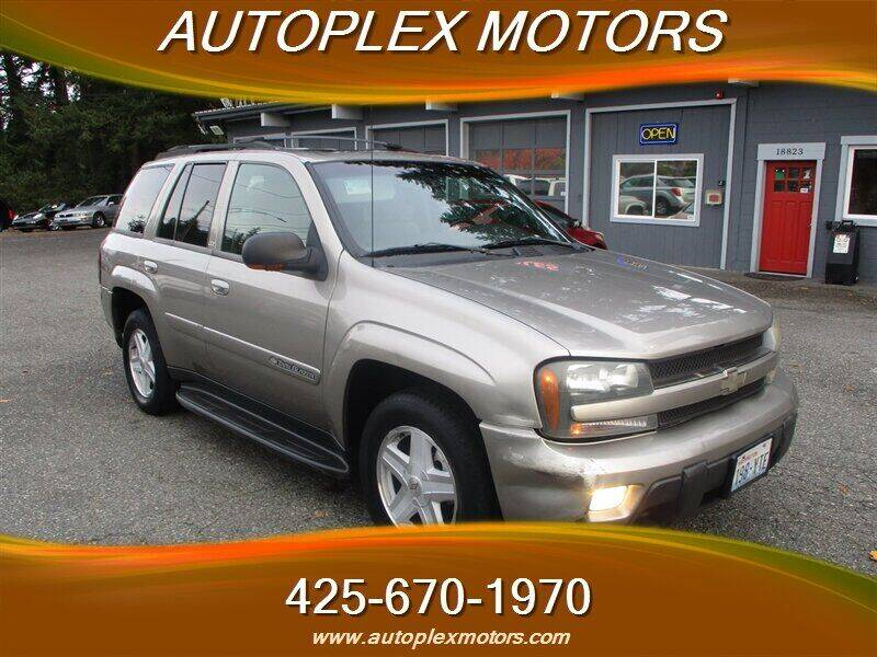 2002 Chevrolet TrailBlazer for sale at Autoplex Motors in Lynnwood WA