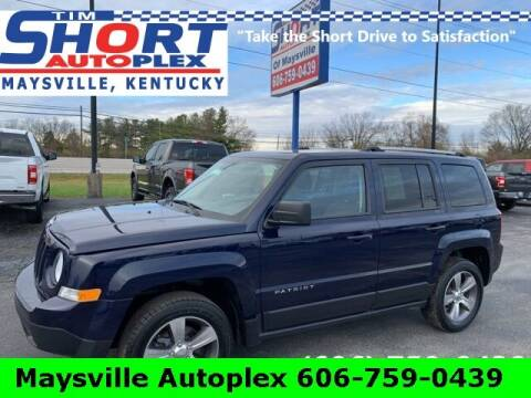 2017 Jeep Patriot for sale at Tim Short Chrysler in Morehead KY