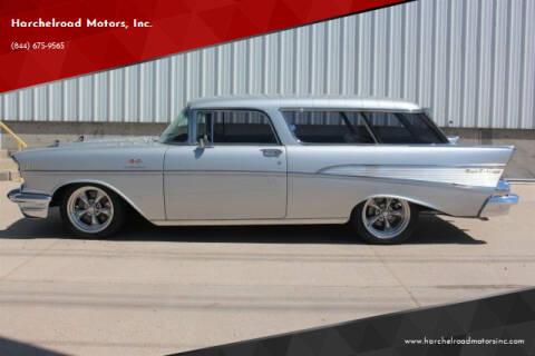 1957 Chevrolet Nomad for sale at Harchelroad Motors, Inc. in Imperial NE