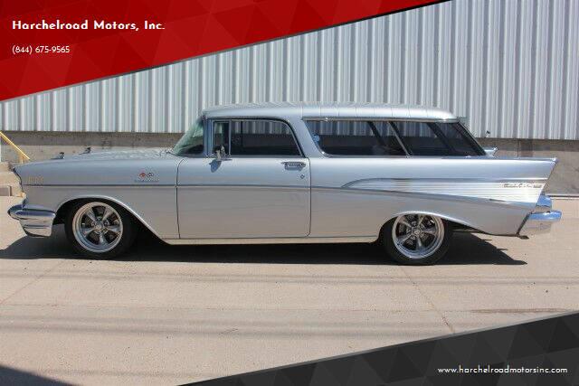 1957 Chevrolet Nomad for sale at Harchelroad Motors, Inc. in Imperial NE