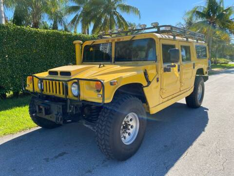 1998 AM General Hummer for sale at American Classics Autotrader LLC in Pompano Beach FL