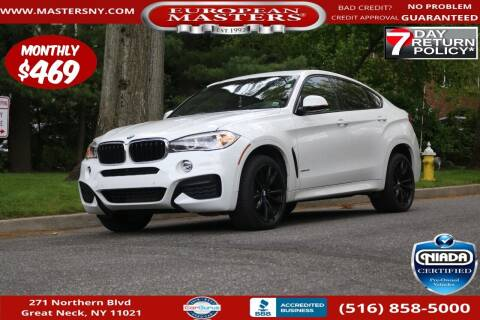 2018 BMW X6 for sale at European Masters in Great Neck NY