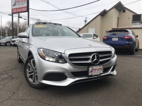 2018 Mercedes-Benz C-Class for sale at PAYLESS CAR SALES of South Amboy in South Amboy NJ
