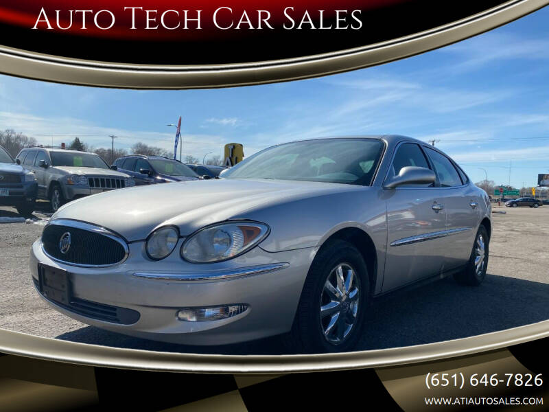 2007 Buick LaCrosse for sale at Auto Tech Car Sales in Saint Paul MN