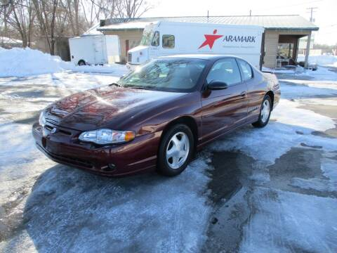 2000 Chevrolet Monte Carlo for sale at RJ Motors in Plano IL