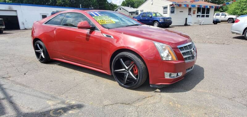 2011 Cadillac CTS for sale at Russo's Auto Exchange LLC in Enfield CT