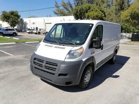 2016 RAM ProMaster Cargo for sale at Best Price Car Dealer in Hallandale Beach FL