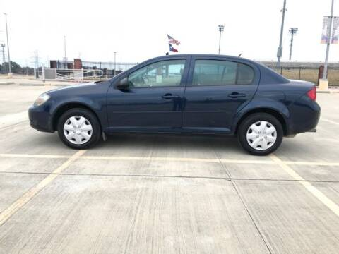 2010 Chevrolet Cobalt for sale at ALL AMERICAN FINANCE AND AUTO in Houston TX