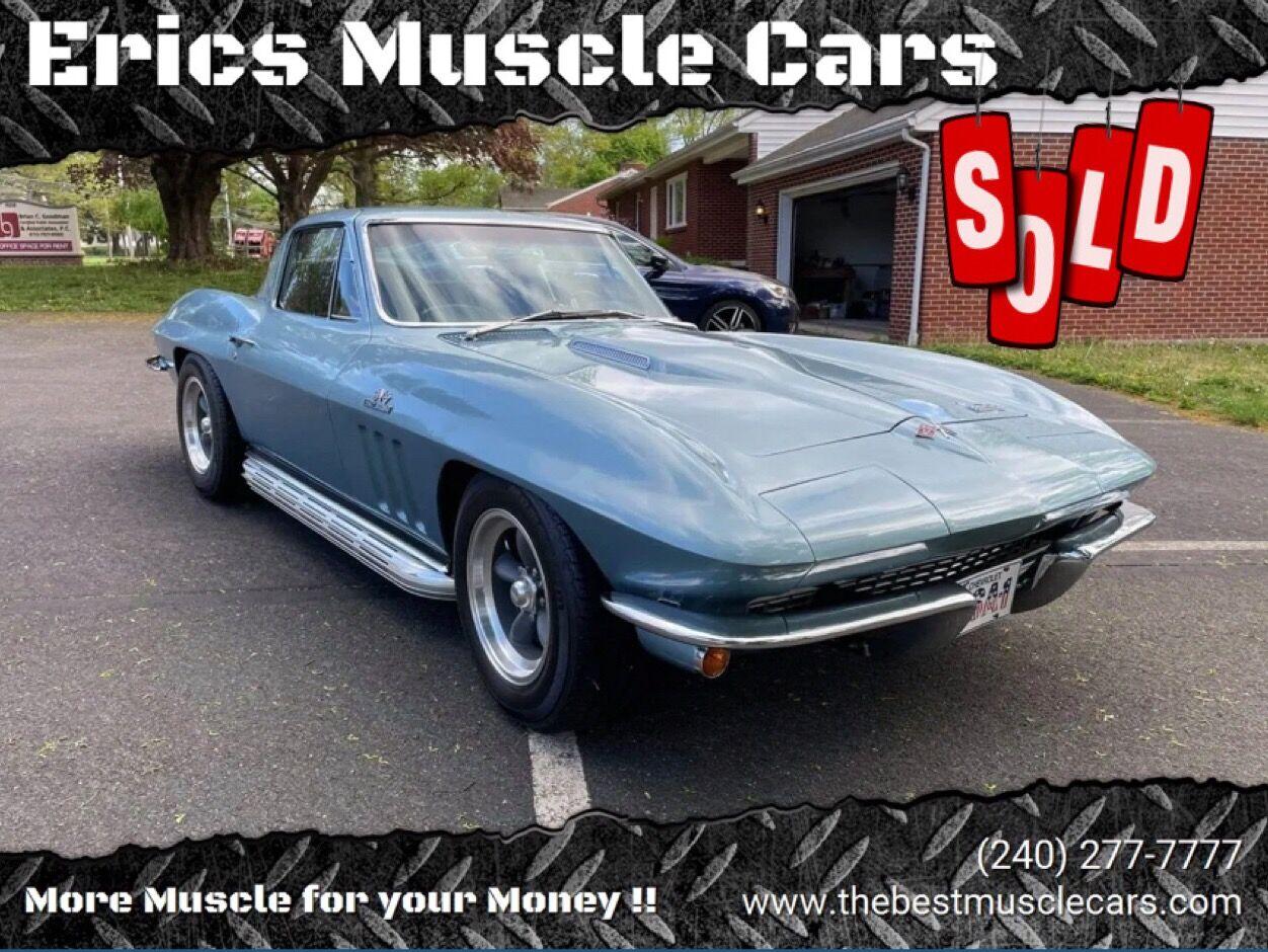 1966 Chevrolet Corvette SOLD SOLD SOLD