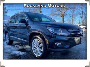 2012 Volkswagen Tiguan for sale at Rockland Automall - Rockland Motors in West Nyack NY