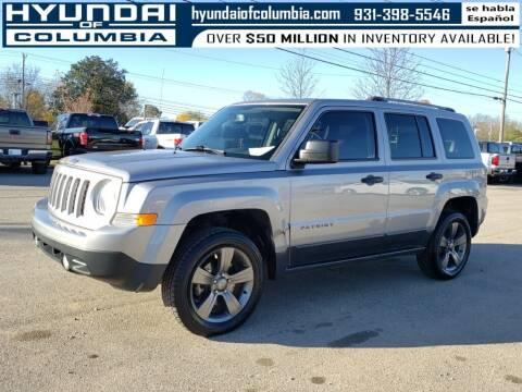 2016 Jeep Patriot for sale at Hyundai of Columbia Con Alvaro in Columbia TN