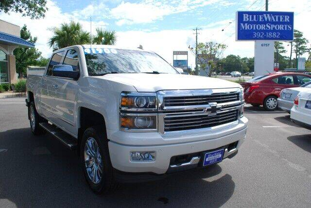 2015 Chevrolet Silverado 1500 for sale at BlueWater MotorSports in Wilmington NC