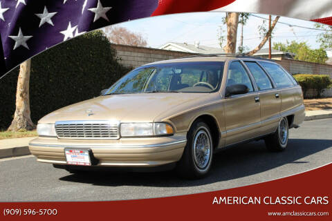 1995 Chevrolet Caprice for sale at American Classic Cars in La Verne CA