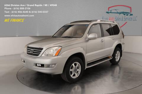 2003 Lexus GX 470 for sale at Elvis Auto Sales LLC in Grand Rapids MI