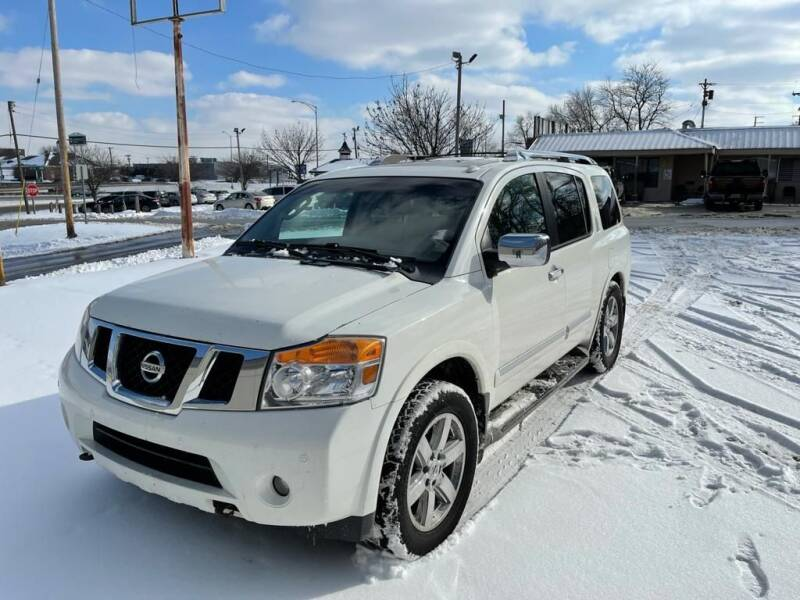 2011 Nissan Armada for sale at Auto Hub in Grandview MO