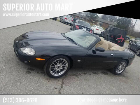 1999 Jaguar XK-Series for sale at SUPERIOR AUTO MART in Amelia OH