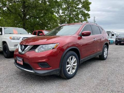 2015 Nissan Rogue for sale at TINKER MOTOR COMPANY in Indianola OK