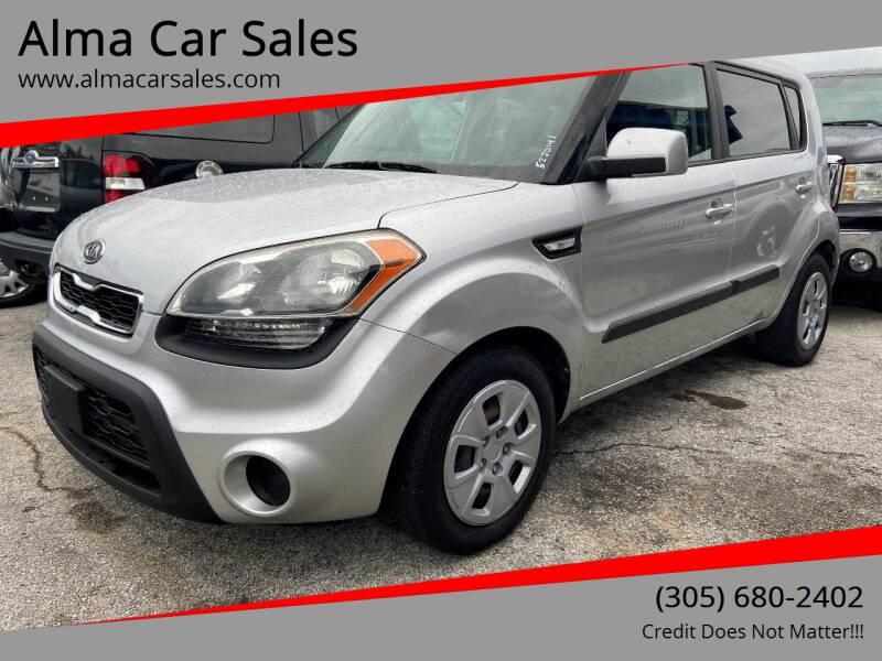 2012 Kia Soul for sale at Alma Car Sales in Miami FL