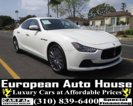 2017 Maserati Ghibli for sale at European Auto House in Los Angeles CA