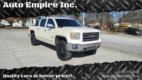 2014 GMC Sierra 1500 for sale at Auto Empire Inc. in Murfreesboro TN