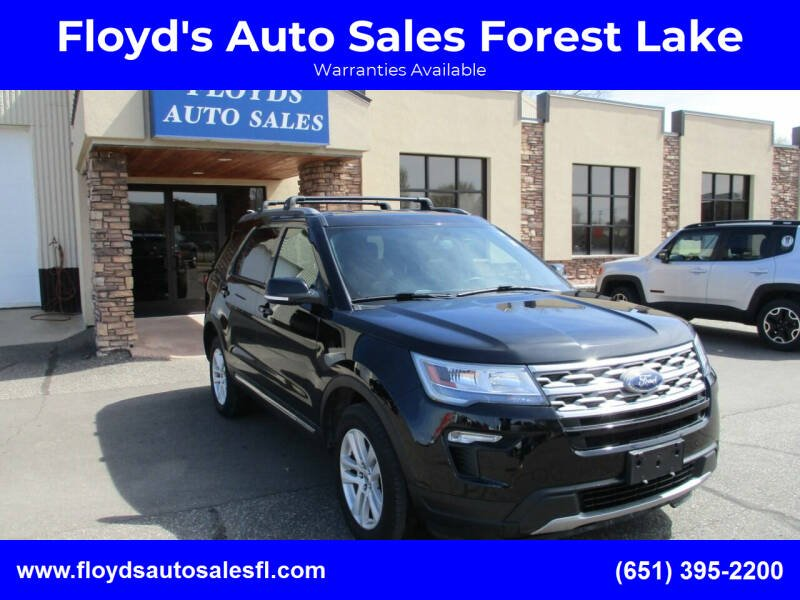 2018 Ford Explorer for sale at Floyd's Auto Sales Forest Lake in Forest Lake MN
