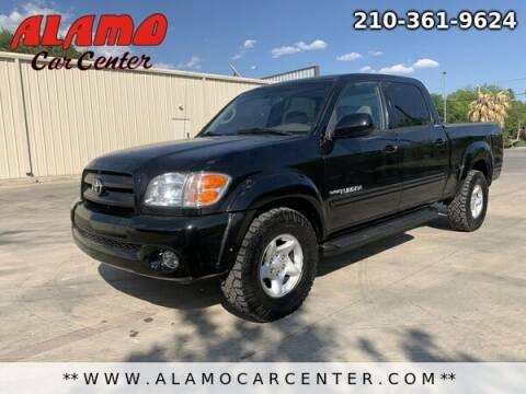 2004 Toyota Tundra for sale at Alamo Car Center in San Antonio TX