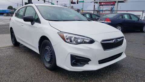 2019 Subaru Impreza for sale at Seattle's Auto Deals in Everett WA