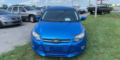 2014 Ford Focus for sale at Todd Nolley Auto Sales in Campbellsville KY