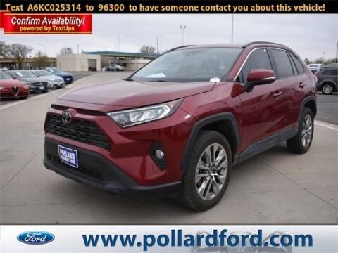 2019 Toyota RAV4 for sale at South Plains Autoplex by RANDY BUCHANAN in Lubbock TX