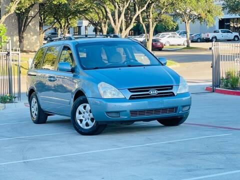 2007 Kia Sedona for sale at Texas Drive Auto in Dallas TX