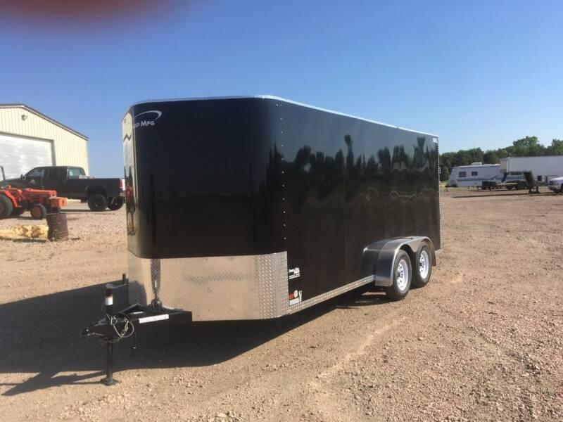 2021 Sharp MFG SEL Enclosed 7x16 #0269 for sale at Prairie Wind Trailers, LLC in Harrisburg SD