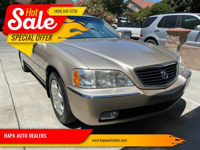 1999 Acura RL for sale at HAPA AUTO DEALERS in Santa Clara CA